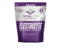 Vitalyte Electrolyte Powder Sports Drink Mix, 80 Servings - Grape SHIPS FAST!