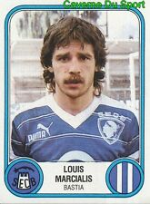 030 LOUIS MARCIALIS SEC.BASTIA VIGNETTE STICKER FOOTBALL 83 PANINI