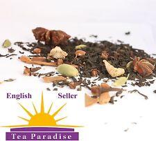Masala Chai - Black Loose Leaf Tea Blend 100 Natural No Flavouring Indian Tea 20 Tea Bags X 4g Each