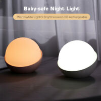 AUGIENB LED Night Sleeping Lamp Baby Room Light Kid Bed Lamp Gifts Toys USB