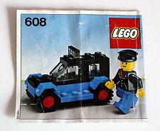 Lego 608 Taxi aus dem Jahr 1979 Bauanleitung gebraucht ohne Steine 49