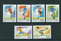 BENIN 1997 WORLD CUP in FRANCE 1998 complete set of 6 VF MNH