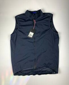 RAPHA Pro Team Lightweight Gilet Dark Navy Size XL New