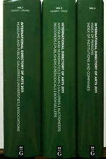 De Gruyter - International Directory of Arts 2011 - In 3 Volumes - 35th Edition