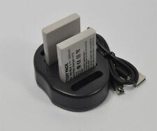 Battery+Charger EN-EL5 f Nikon P500 P5000 P510 P520 P530 P5100 P6000 P80 P90 S10