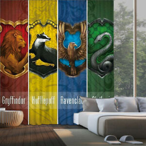 Four Colleges Curtains 1 Panel Window Curtain Drapes with Grommets for Bedroom