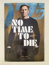 No Time To Die | original DS movie poster 27x40 | James Bond 007 Daniel Craig