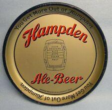 Nice Vintage 1930'S Hampden Ale Beer Keg Tray Sign Willimansett Massachusetts