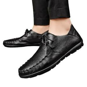 Mens Faux Leather Driving Moccasins Shoes Pumps Loafers Breathable Walking New L