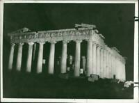 The parthenon the history of which was narrate by a - Vintage photograph 1389322