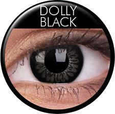 Farbige braune grüne blaue lila Kontaktlinsen mit Stärke Big Eyes große Augen