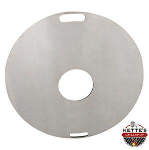 Fireplate / Grillplatte /BBQ-Platte / Plancha / Feuerplatte / Grillring /