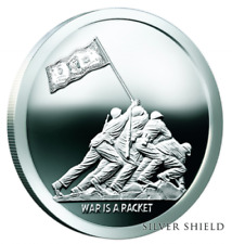 "2017 Silver Shield WAR IS A RACKET-1 oz Proof - #1 in ""Monumental Truth"" Series"
