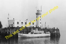MRS-E0025 - Scarborough Lighthouse and Regal Lady Pleasure Cruise Boat 1960s