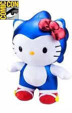 SDCC 2017 Exclusive Toynami Super Sonic X Hello Kitty Plush LE - SEALED