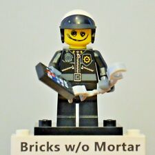 New Genuine LEGO Scribble-Face Bad Cop Minifig w/ Handcuffs The Lego Movie 71004