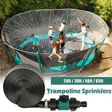 Trampoline Sprinkler Water Spray Kids Outdoor Summer Fun Backyard Waterpark Game