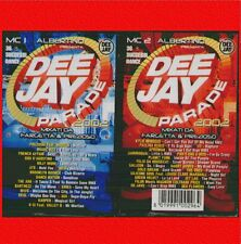 """COMPILATION """" DEEJAY PARADE 2002  """" 2 MUSICASSETTE SIGILLATE TIME  (MC K7)"""