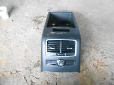 AUDI A6 C6 4F (MK3) 2008 ARM REST CONSOLE REAR HEATER VENTS & 12V OUTLET