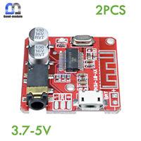 2PCS 3.7-5V Mini Bluetooth 4.1 Audio Receiver Board MP3 Decoder Amplifier Module