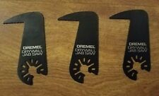 3 NEW DREMEL MULTI-MAX MM435 DRYWALL JAB SAW UNIVERSAL QUICK FIT INTERFACE