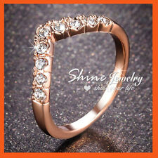 Band Rose Gold Filled Fashion Rings
