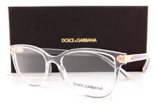Brand New Dolce & Gabbana Eyeglass Frames DG 5036 3133 Crystal For Women SZ 53