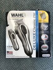Wahl Deluxe Chrome Pro 79650-1301 Trimmer Kit - Chrome New