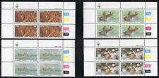 SWA 1983 MNH LOBSTER INDUSTRY SET BLOCKS OF 4