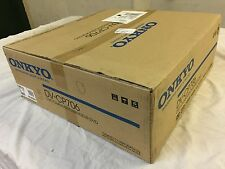 NEW Onkyo DV-CP706 Six / 6 DVD CD Disc Player Changer SILVER HDMI 1080p output