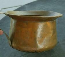 Antique Handmade Copper Chamber Pot Planter