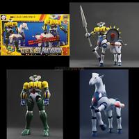 KOTETSU JEEG & Cavallo PANTHEROID SET Evolution Toy DYNAMITE METAL ACTION S