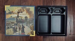 Catan Histories Settlers Of America | Empty Game Box | No Components Included!
