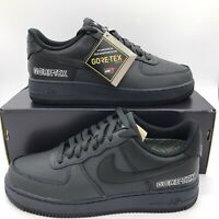 NIKE AIR FORCE 1 GTX GORE-TEX MENS SIZE CT2858-001 ANTHRACITE BLACK BARELY GREY