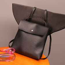 Women PU Leather Double Shoulder Backpack Messenger Satchel Bags Tote Handbags