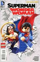 Superman Wonder Woman #13 Lego Variant The New 52 DC comic 2014 1st Print NM