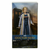 Doctor Who Barbie Doll BBC Barbie Signature Dr Doll 2018 Mattel