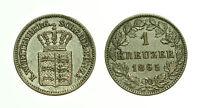 pcc1615_4) GERMANIA Württemberg - 1 Kreuzer 1865