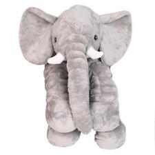 Long Nose Elephant Doll Pillow Soft Plush Stuff Toys Lumbar Pillow For Baby Kids