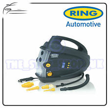 Ring 12V Digital Air Tyre Compressor Electric Tyre Inflator & Deflator RAC640