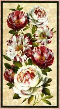 Wilmington's Scentimental Floral Panel Quilt Fabric 2/3 yds