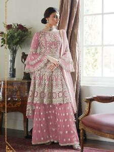 Party Wear Pakistani Bollywood  Indian Anarkali Designer Dress Suit Salwar Gown