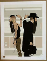 Tomer Hanuka Take The L Train 2016 New Yorker Signed Limited Edition Art Print