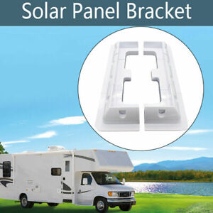 6pcs Solar Panel Corner Mounting Brackets Kit Vehicle Roof Mount Caravan Boat RV
