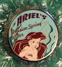 Disney DLR - Princess Bottle Cap Series (Ariel's Artesian Spring Water) Pin