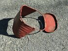 Vintage Taylor Tot Metal Stroller Salvage Parts Steampunk Seat Pan and Tray Red