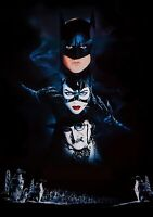 BATMAN RETURNS Movie PHOTO Print POSTER Film 1992 Tim Burton Textless Glossy 001