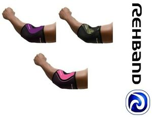 Rehband 102330/102331 Rx Elbow Support- 5mm Crossfit Weightlifting Powerlifting