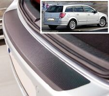 Vauxhall/Opel Astra MK5 Estate - Carbon Style rear Bumper Protector