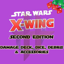 X-Wing Miniatures Game 2.0 2nd Edition Supplies - Debris, Medium Stands, etc